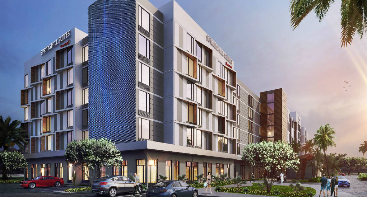 Dual Branded Residence Inn Springhill Suites To Open In