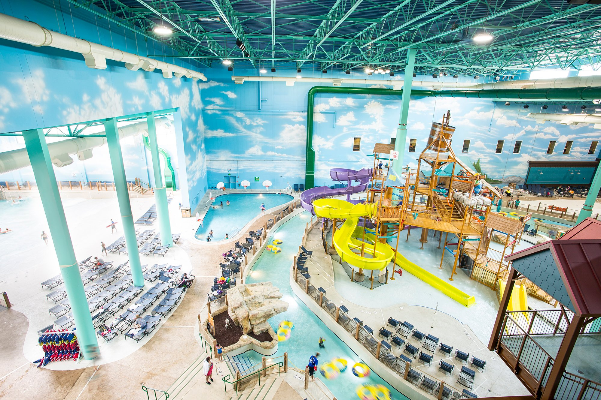 New Great Wolf Lodge Opens In Gurnee Ill Hotel Management