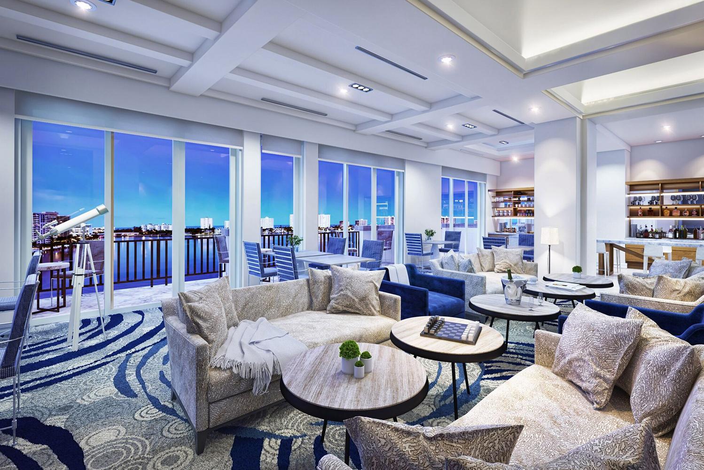 Boca raton resort club updates yacht club with jane for Hotel club decor