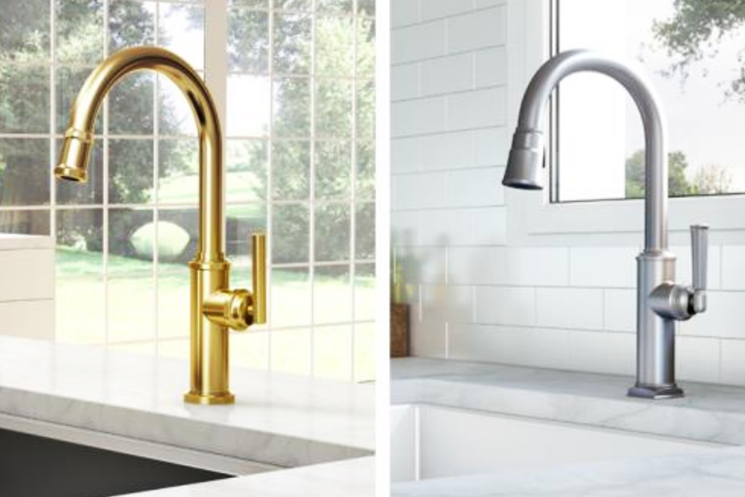 Multidimensional feel: New kitchen faucet suites from ...