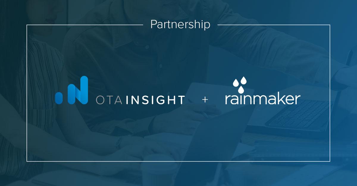 Rainmaker Partners With Ota Insight Hotel Management