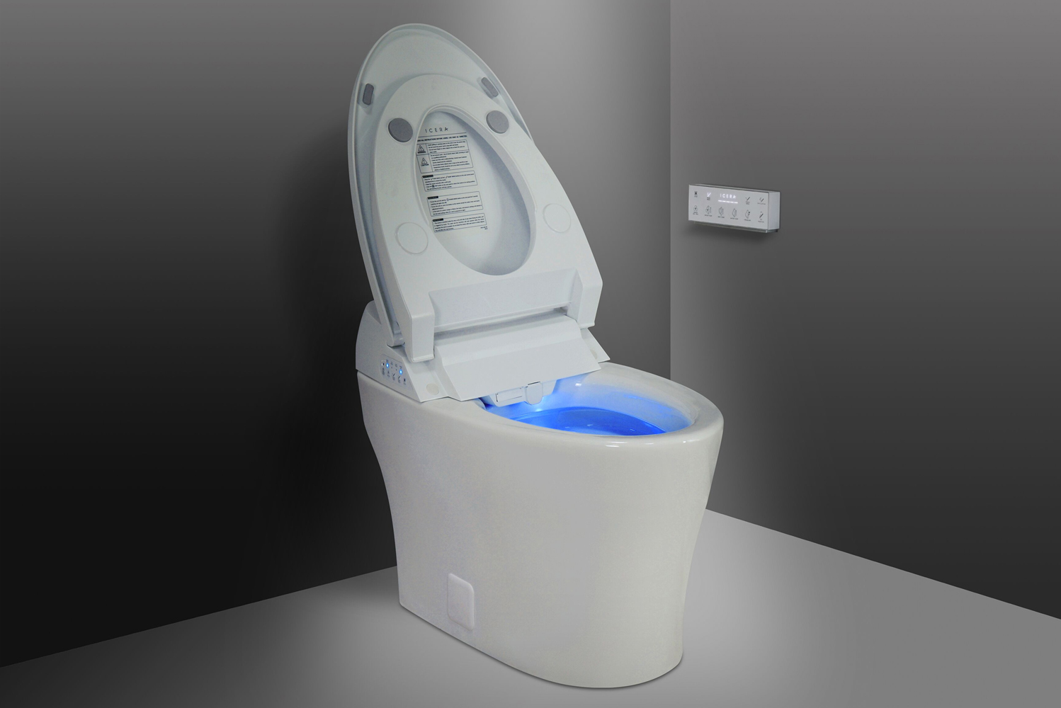 Enjoyable Integrated Bidet Toilet Muse Iwash From Icera Hotel Uwap Interior Chair Design Uwaporg