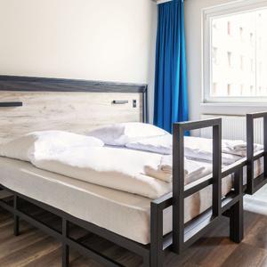 A&O Berlin room