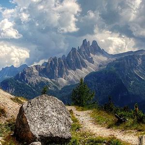 Croda da Lago Italy