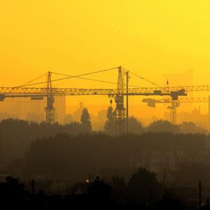 crane skyline