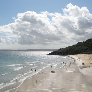 A picture of Carbis Bay beach