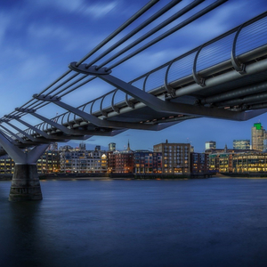 London Thames view