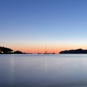 Majorca at night