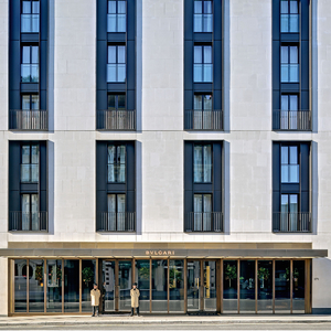 Bulgari London - Hotel Facade
