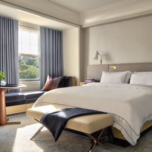 Guest Room at The Newbury Boston
