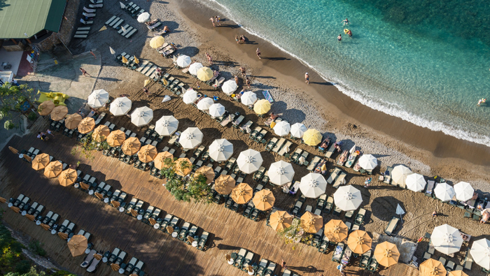 Turkey beach resort