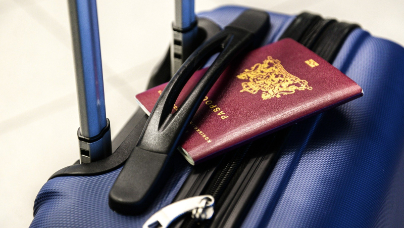 passport, luggage