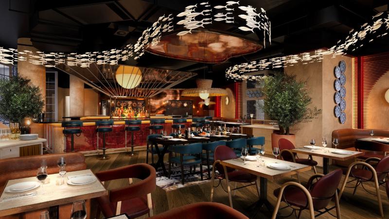 Mondrian Shoreditch BIBO Restaurant
