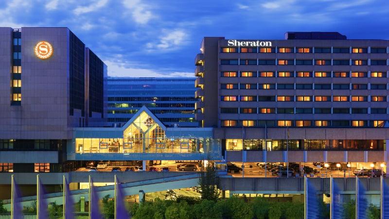 The Sheraton Frankfurt Airport Hotel