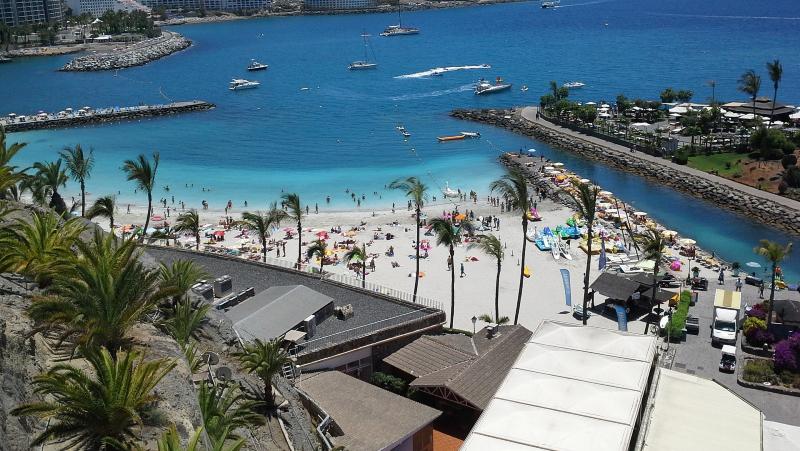 A beach in Spain.