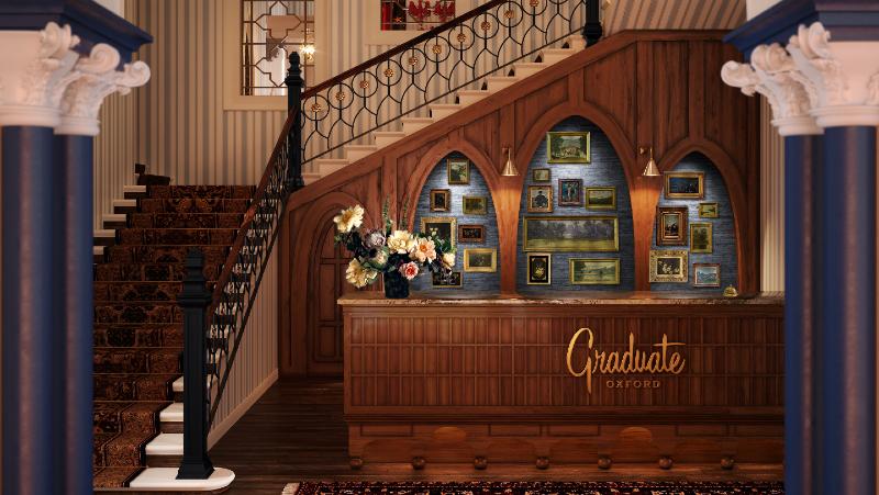 Graduate Hotels Oxford reception