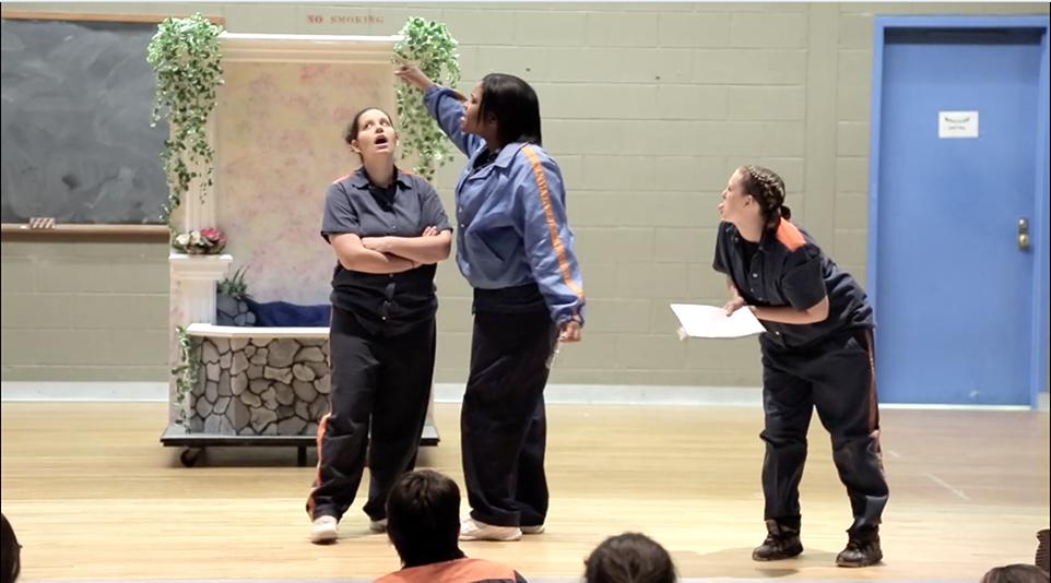 Shakespeare in Prison theatre design