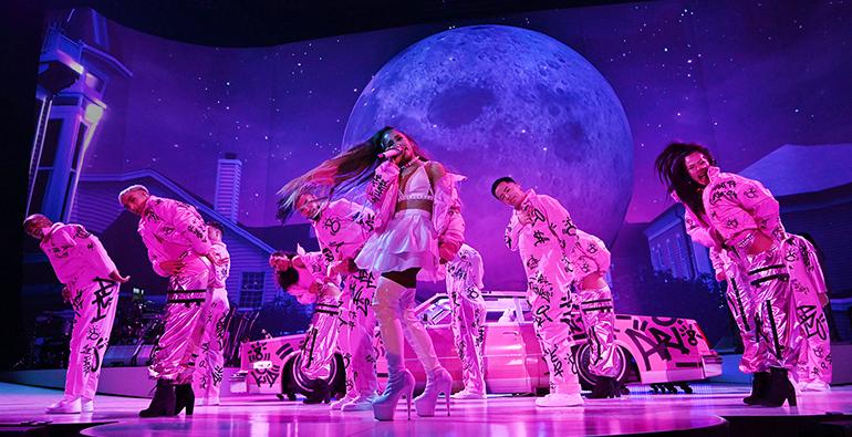 Thank U, Next: LeRoy Bennett Designs Ariana Grande's Sweetener World Tour |  LiveDesignOnline