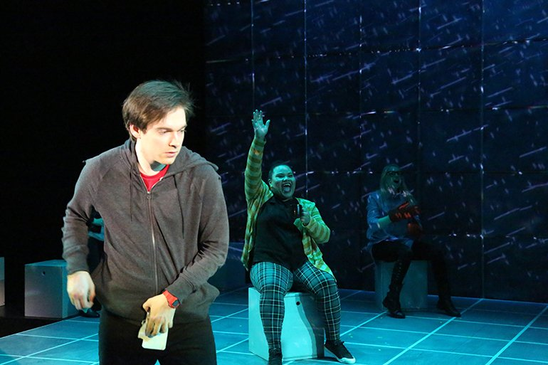 media design for The Curious Incident of the Dog in the Night-Time