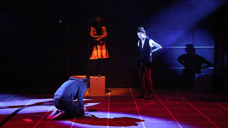 lighting design for The Curious Incident of the Dog in the Night-Time