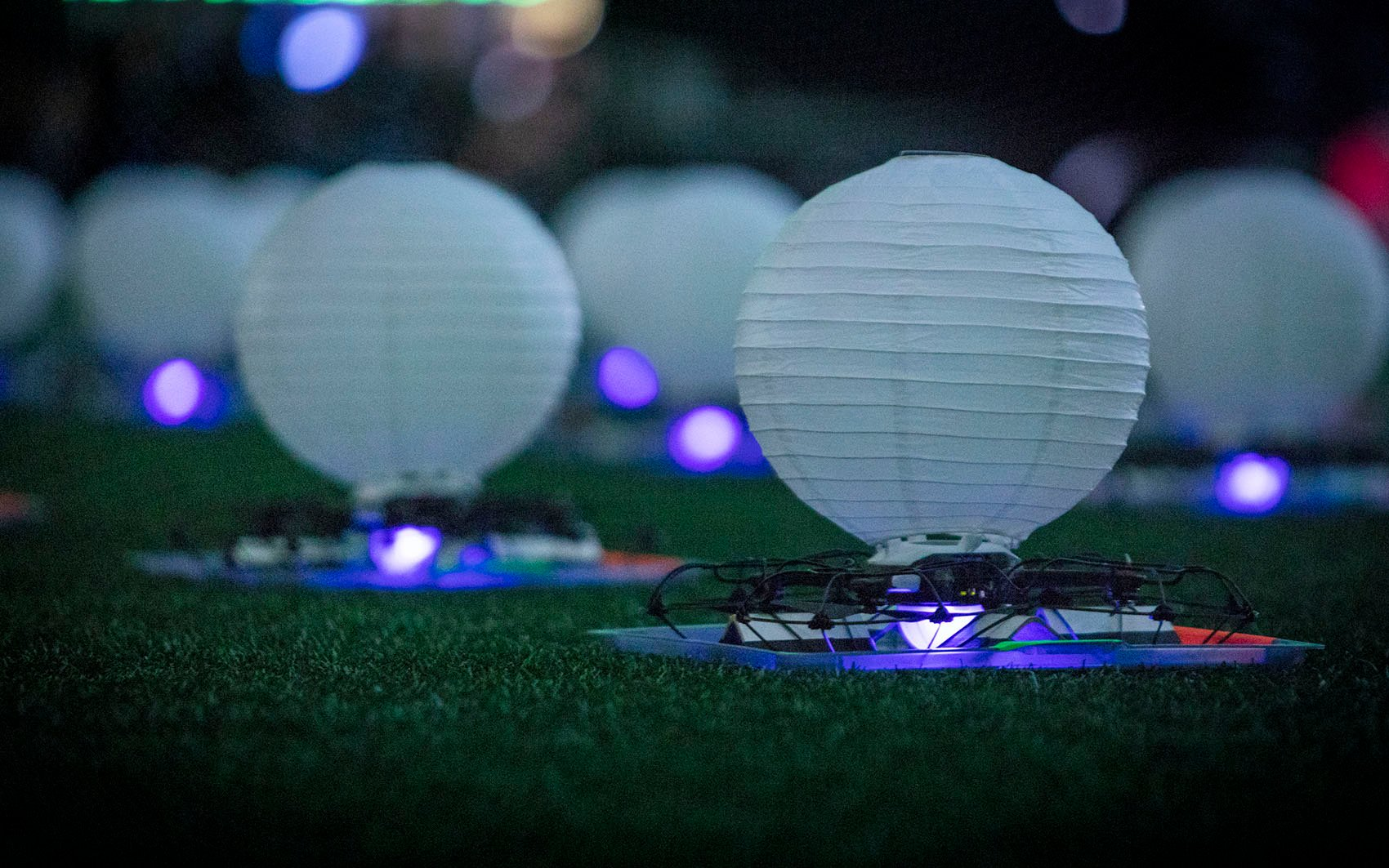 Intel Drones at Super Bowl LIII Halftime Show