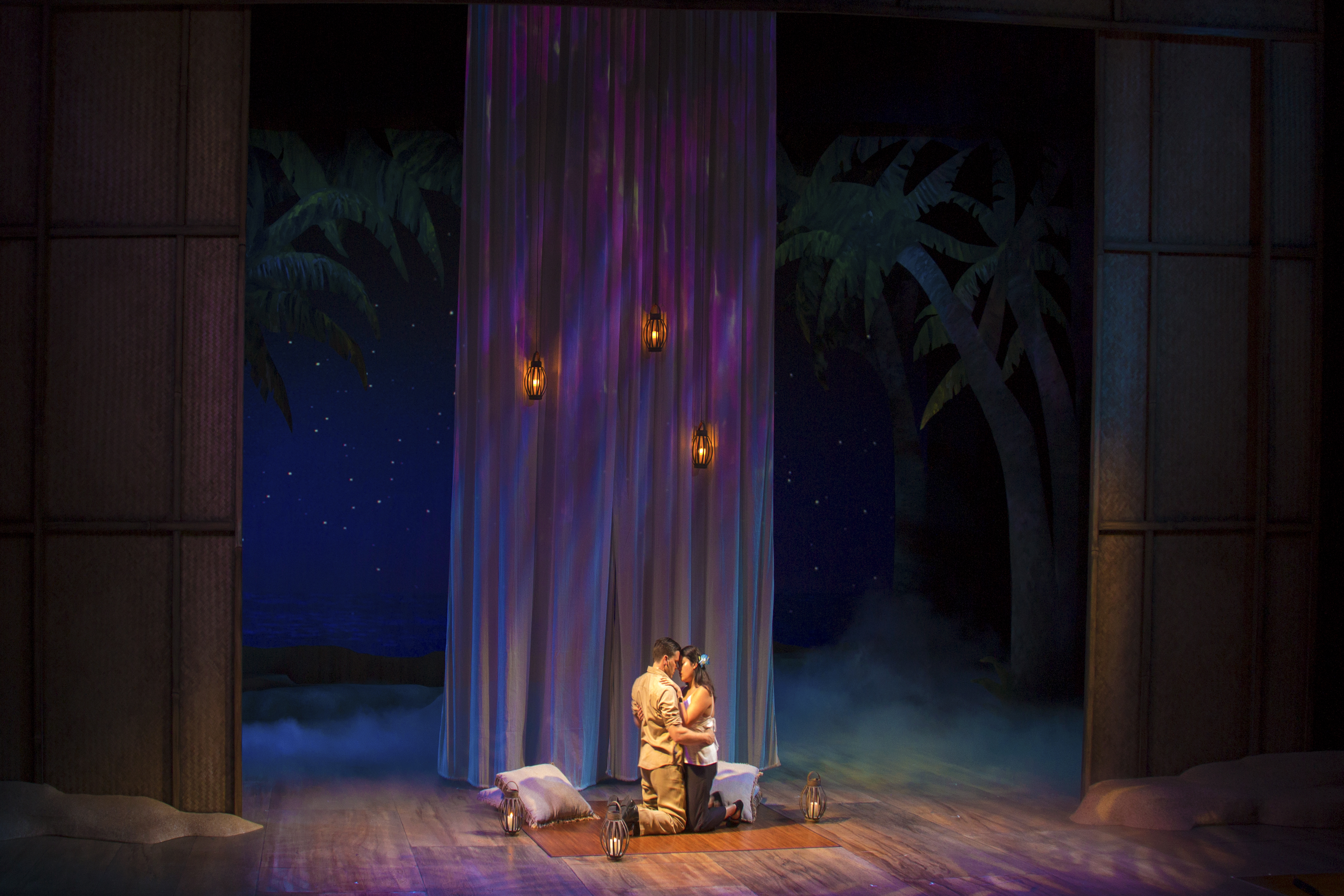 projection design for South Pacific