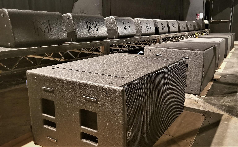 Martin Audio XE300 and SX218
