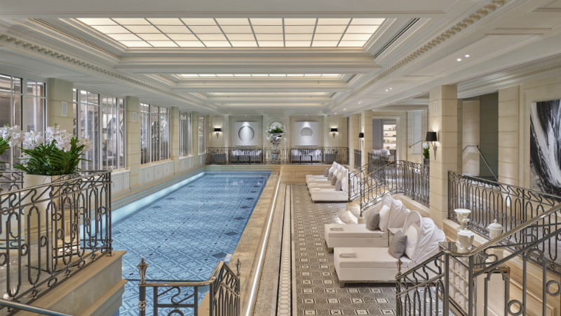 It S Here The New Spa At Four Seasons George V In Paris Luxury