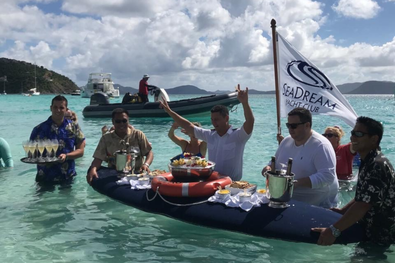 """Sailing SeaDream: The """"Yachting Life"""" in the Caribbean"""
