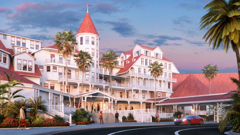 Hotel Del Coronado Plans A Makeover