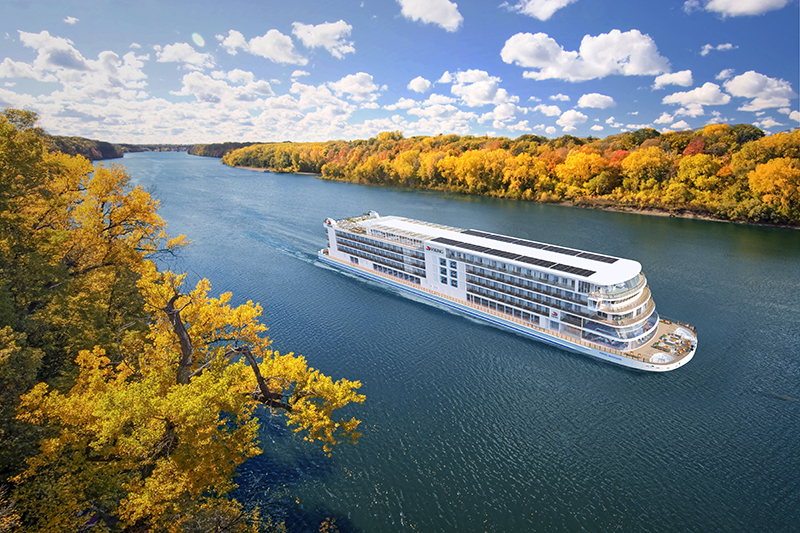 Viking to Launch Ship on the Mississippi River