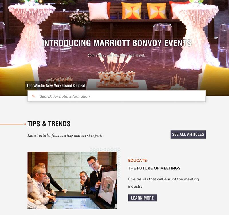 Marriott Bonvoy Events
