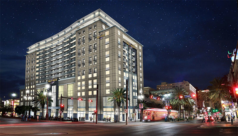 Hard Rock Hotel New Orleans rendering