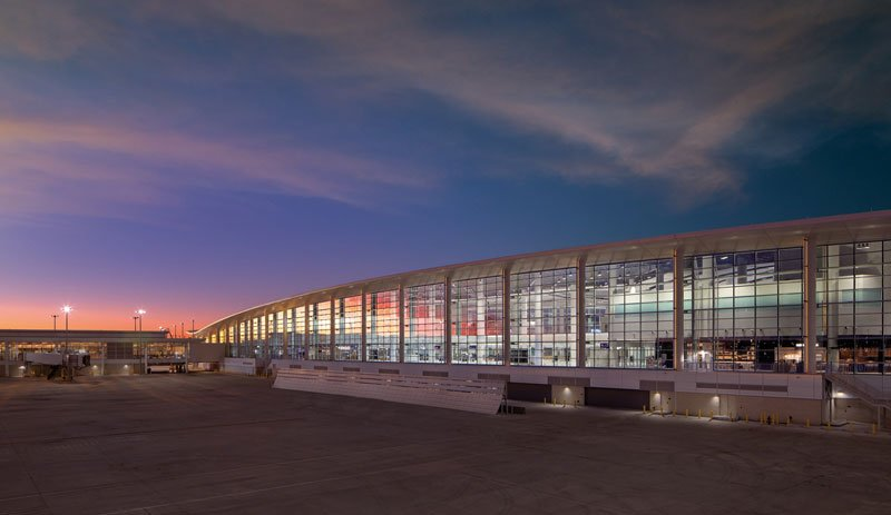 New terminal at New Orleans Airport