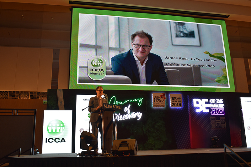 ICCA President James Rees delivered Keynote Address at the inaugural ICCA Asia Pacific Summit 2019
