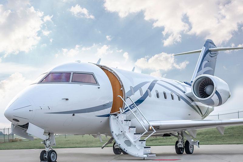 Delta Private Jet