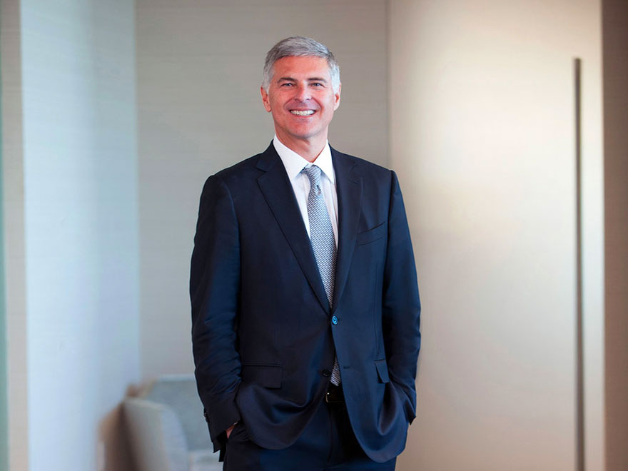 Hilton CEO Chris Nassetta said the outbreak could continue to be a factor for another six to 12 months.