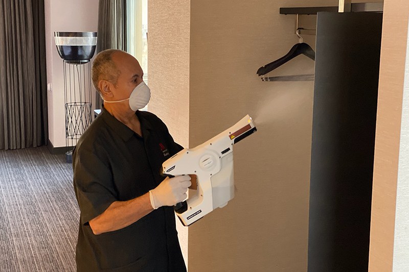 Marriott cleaning