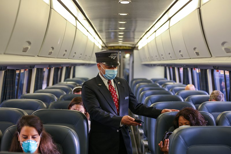 Amtrak Face coverings