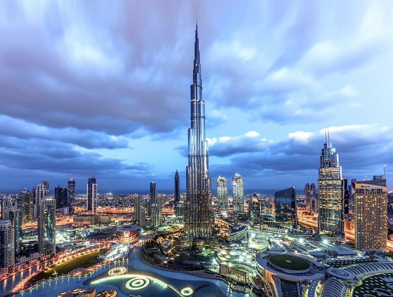 Dubai Downtown Burj Khalifa
