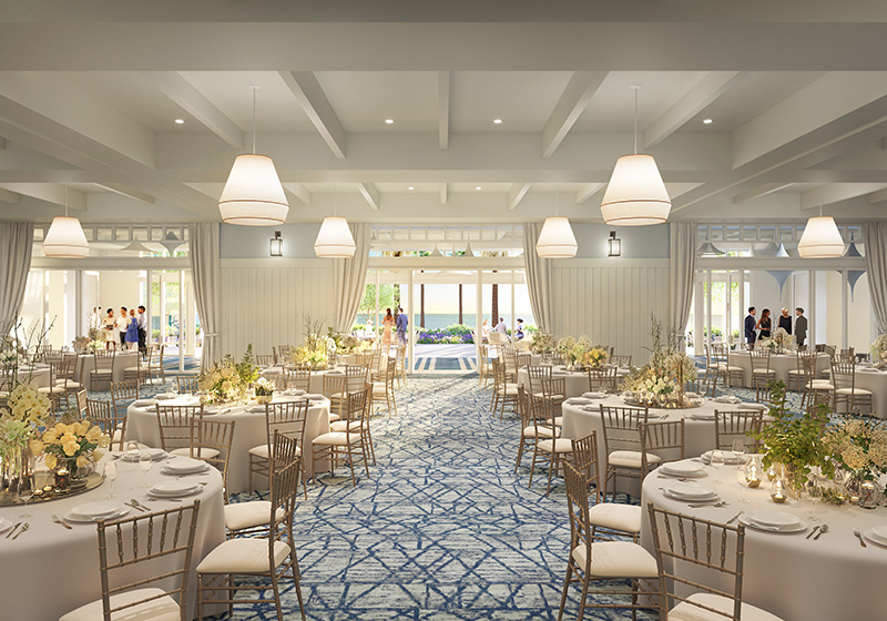 The Seabird Resort, a Destination Hotel ballroom