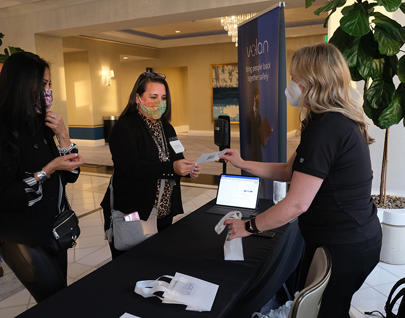 Volan Technology Unveils Contact Tracing Solution at Associated Luxury Hotels International all staff meeting held in Austin, TX