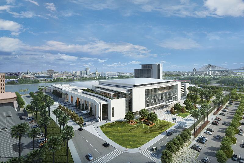 Savannah Convention Center expansion