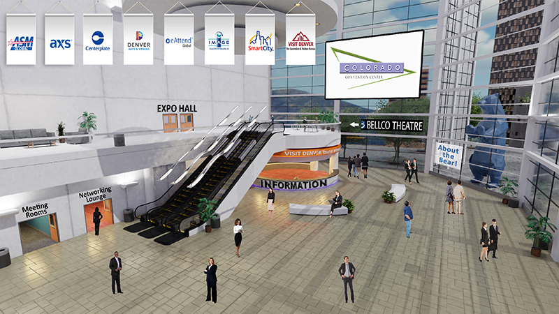 Virtual Platform for the Colorado Convention Center -- GreatHall