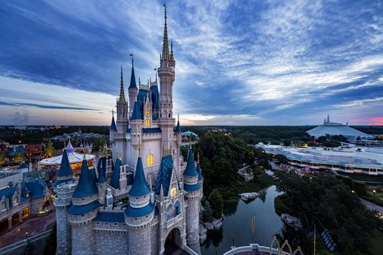 Cinderella's Castle, Walt Disney World Resort