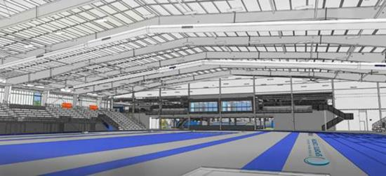 The New Virginia Beach Sports Center is the newest and largest indoor sports center on the East Coast.