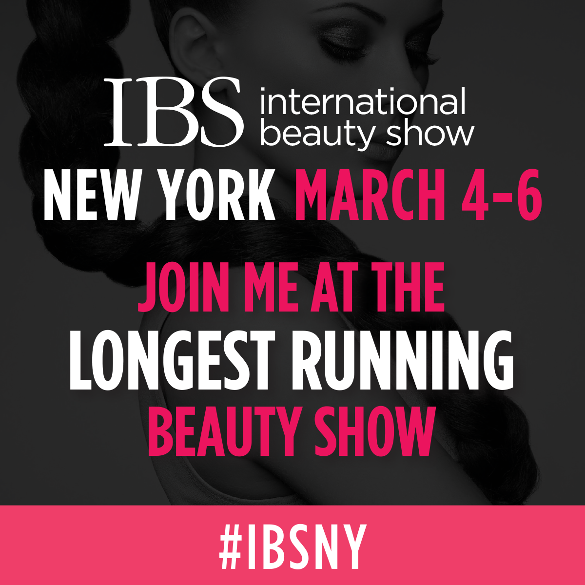 Join me at the longest running beauty show