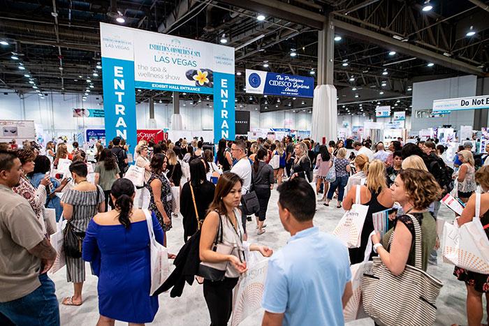 International esthetics cosmetics and spa conference | iescs 2019 expo hall | international esthetics, cosmetics and spa conference las vegas 2020