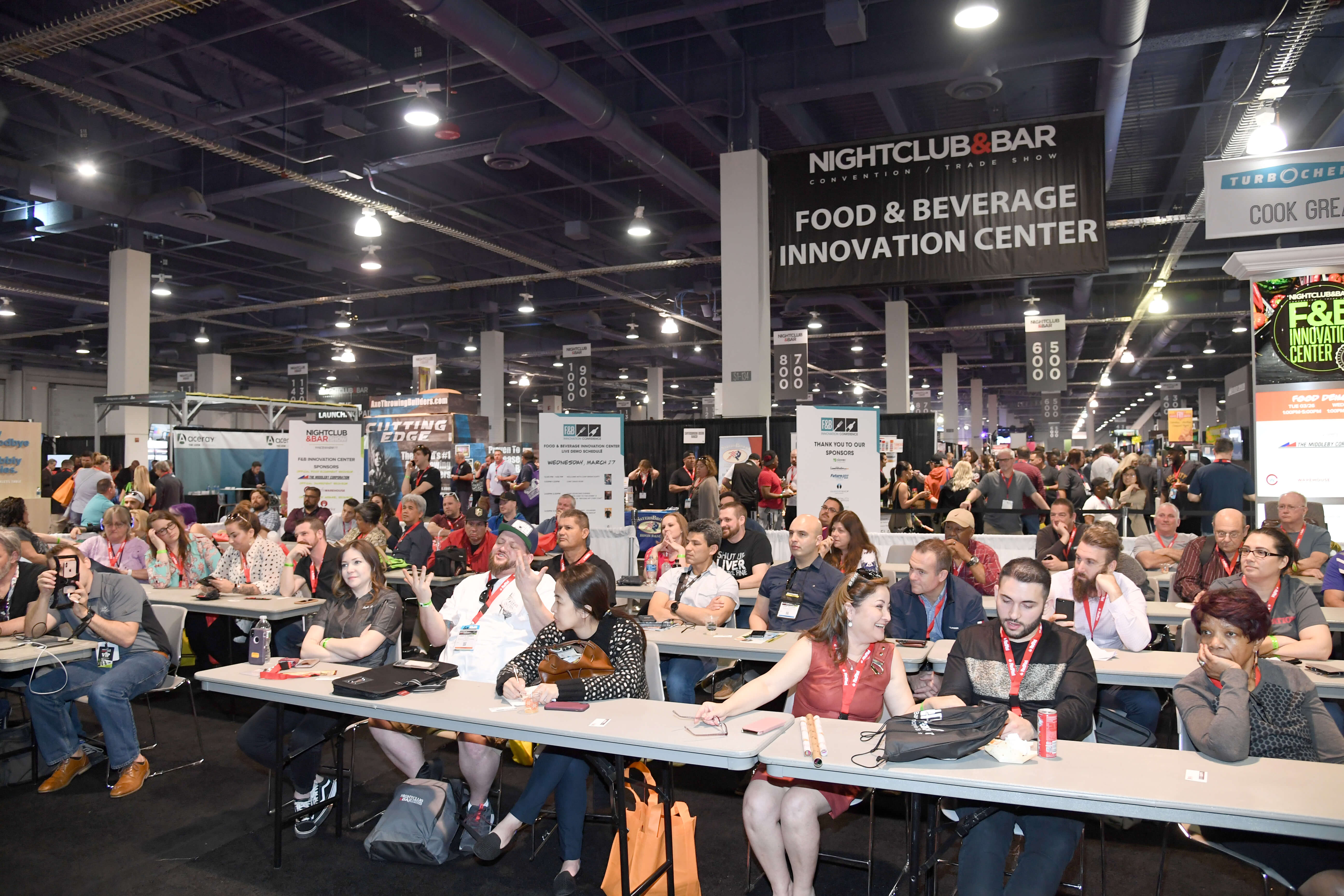 Nightclub and bar show 2020 sponsors   participants at f&b innovation center   nightclub and bar show 2020