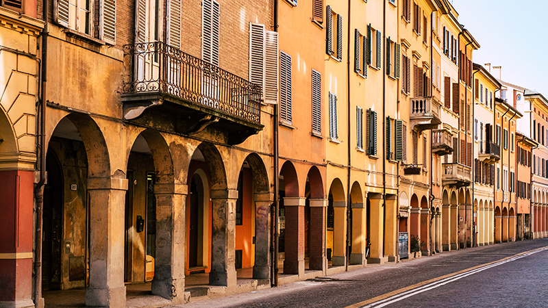 Porticoes%20in%20Bologna%20Emilia Romagna%20Italy%20 %20GettyImages